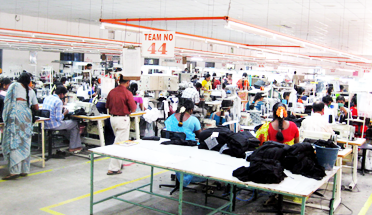 out stitching facility