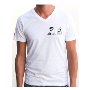 Customized V Neck T shirt
